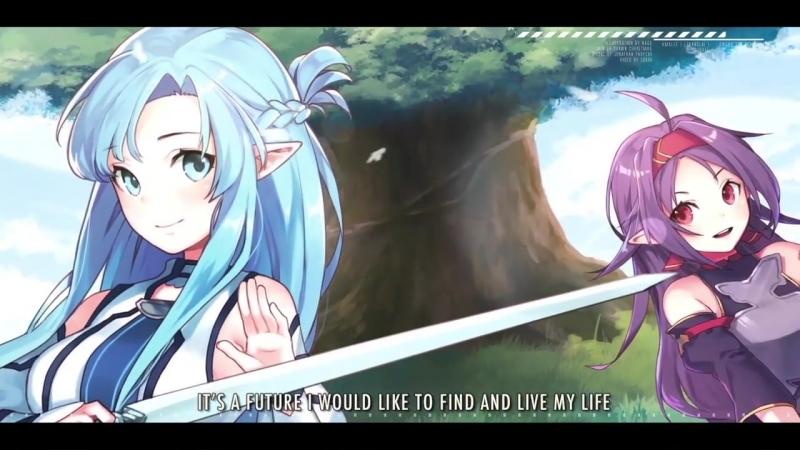 Sword Art Online II - Courage (Opening) _ ENGLISH ver _ AmaLee