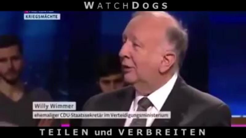Willi Wimmer spricht Klartext NATO KRIEG