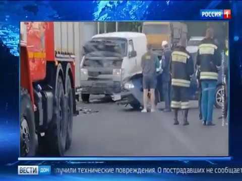 Ранним утром в Ростове произошло серьезное ДТП