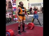 Пейман Махери - тяга 400 кг