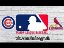 Chicago Cubs vs St Louis Cardinals 16 06 2018 NL MLB 2018 2 3