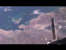 Вид на Землю из Космоса под танцевальную музыку