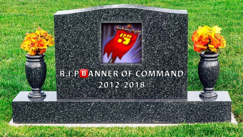 R.I.P Banner of Command