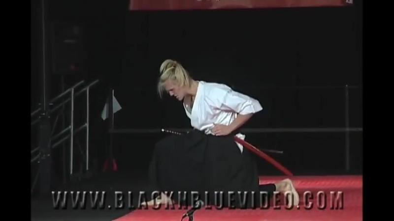 XMA Katana Stephen Grasz Traditional Katana Sword Kata at 2012 Diamond Nationals Karate Tournament