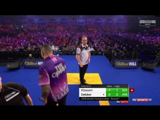 Jelle Klaasen vs Jan Dekker (PDC World Darts Championship 2018 / Round 1)