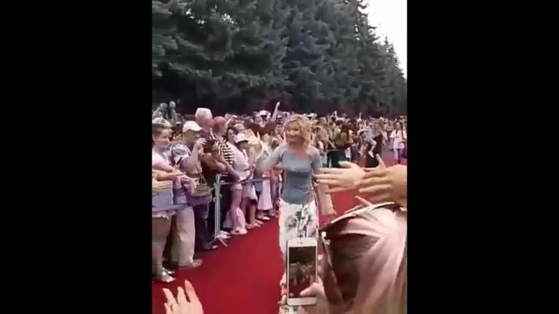 На Звёздной дорожке кинофестиваля Хрустальный ИсточникЪ