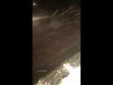 В Уральске по ночам в буран кладут асфальт