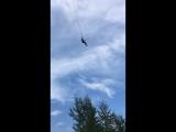 Я прыгаю с трубы))))