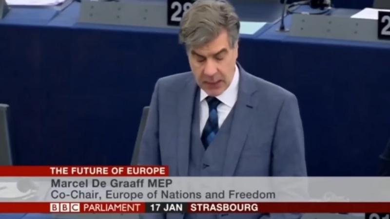 EU - Marcel De Graaff - The Future Of Europe Is Going To Be ISLAMIC