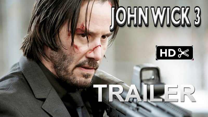 John Wick 3- Trailer 1 (2019) Keanu Reeves Action Movie EXCLUSIVE (fan made)
