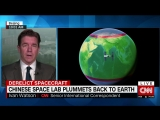 Chinese space lab falls to Earth over Pacific Ocean
