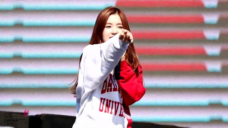 150516 Red Velvet – Ice Cream Cake (Irene Focus) @ Pyeongchang Winter Olympic G-1000 Event Fancam