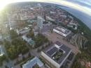 центр Ульяновска с высоты птичьего полёта