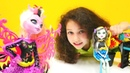 Monster High Frankie Stein kuaföre gidiyor