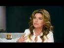 Shania Twain о выборе костюма для выступления на «Кубке Грея», забывании слов и дуэте с Ником Джонасом [RUS SUB]