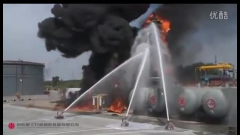Пожары в Китае.Вот как тушат