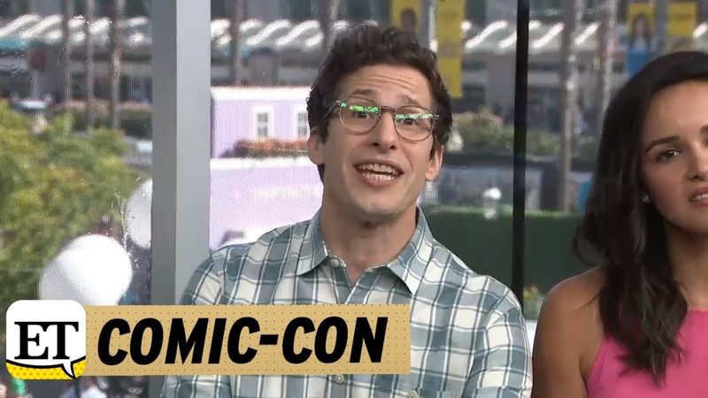 Comic-Con 2018 Andy Samberg Makes A Plea For Bruce Willis To Guest Star On Brooklyn Nine-Nine