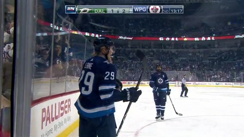 Laine buries his second goal