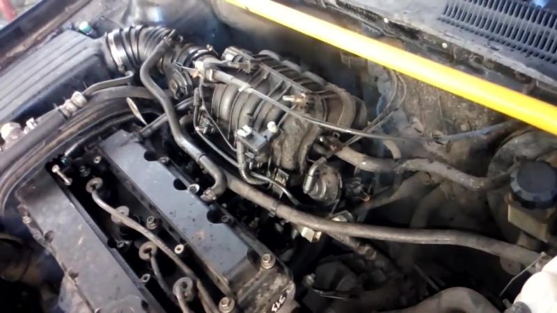 Chevrolet Lacetti (Рокот двигателя или шум в верхней части двигателя)