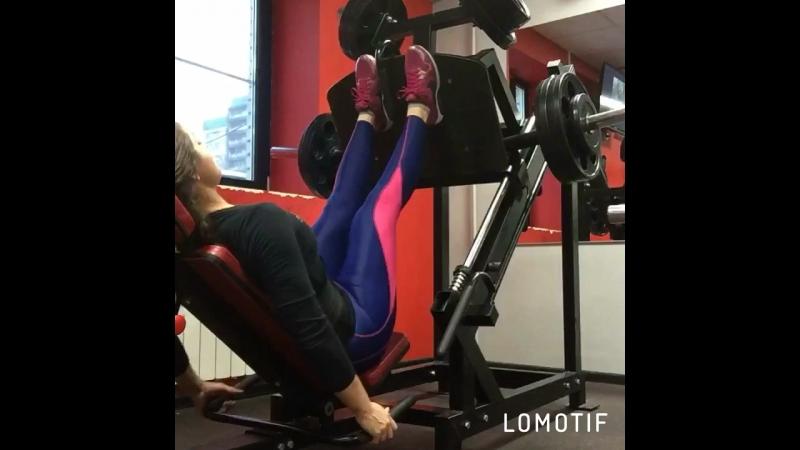 Тренировка ног, поры и голени