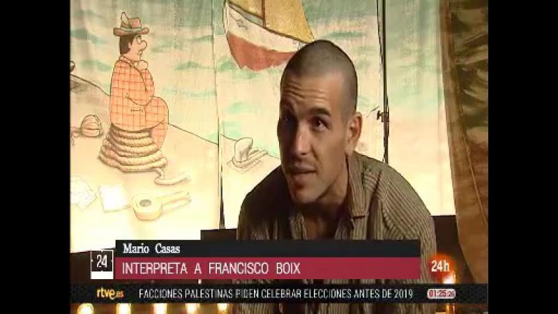Mario Casas es Francesc