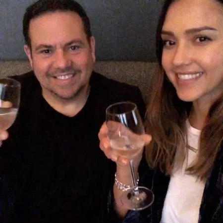 Джессика и Нарцисо Родригес в Нью Йорке 8 мая 2018