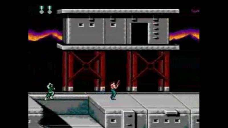 Super Contra NES lvl 1