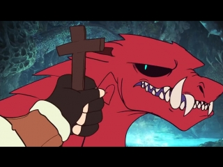Begone, demon dog [ furry / фурри ]