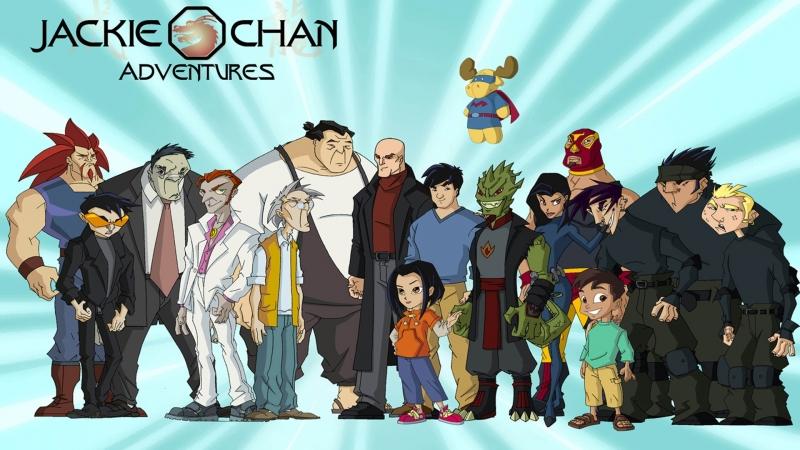 Приключения Джеки Чана / Jackie Chan Adventures / весь 1 сезон