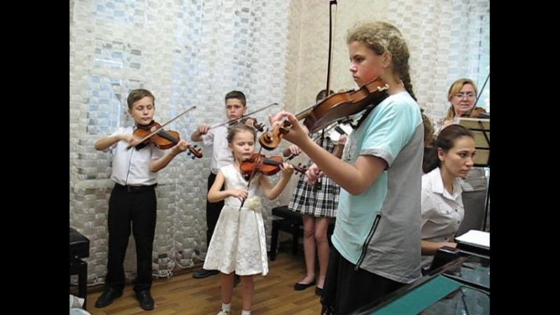 А. Вивальди. Концерт для 2-х скрипок ля минор