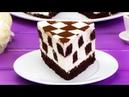 """Идеальное сочетание нежного бисквита и творожного крема – торт """"Шахматная доска"""". Appetitno"""