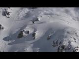 Американский сноубордист спровоцировал сход лавины во время спуска