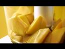 JAUNE by Carte Noire : Espumas de mangue au caviar de café
