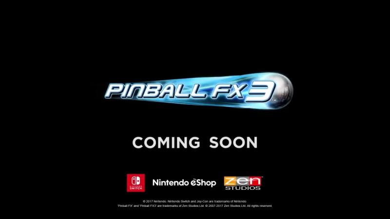 Анонсовый трейлер игры Pinball FX3 для Nintendo Switch!