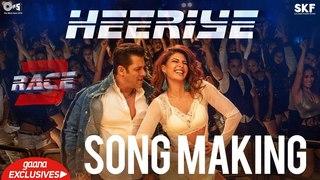 Heeriye Song Making - Race 3 Behind the Scenes   Salman Khan, Jacqueline Fernandez   Remo D'Souza
