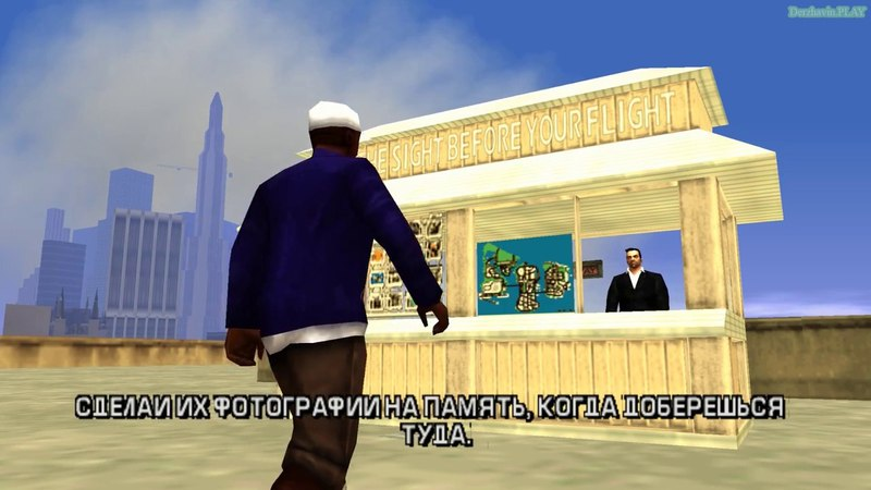 Прохождение GTA Liberty City Stories на 100% - Побочная миссия 7: Катаем туристов - Часть 1 (1-6) (See the Sight Before Your Flight)