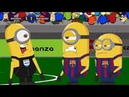 Barcelona vs Real Madrid - Minions Football Game