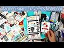 Мастер Класс Как сделать блокнот на резинках Travelers Notebook/ Быстрый и Легкий /Скрапбукинг