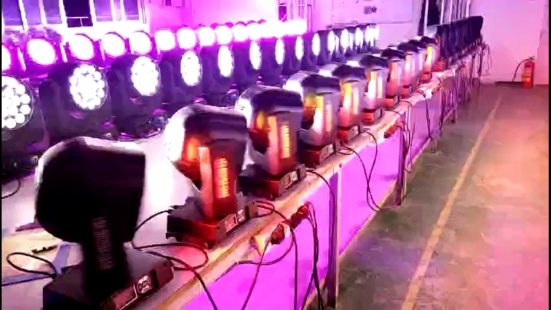 GY-J1 7x15w led bee eye with zoom Production