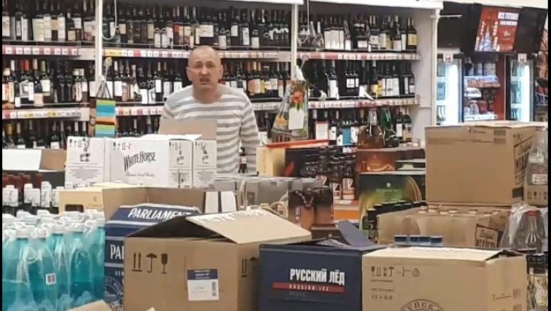 Чёрт попутал: пьяный житель Иванова устроил погром в супермаркете из-за желания жить