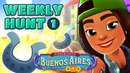 🦄 Subway Surfers Weekly Hunt Collecting Shiny Horse Shoes in Buenos Aires Week 1