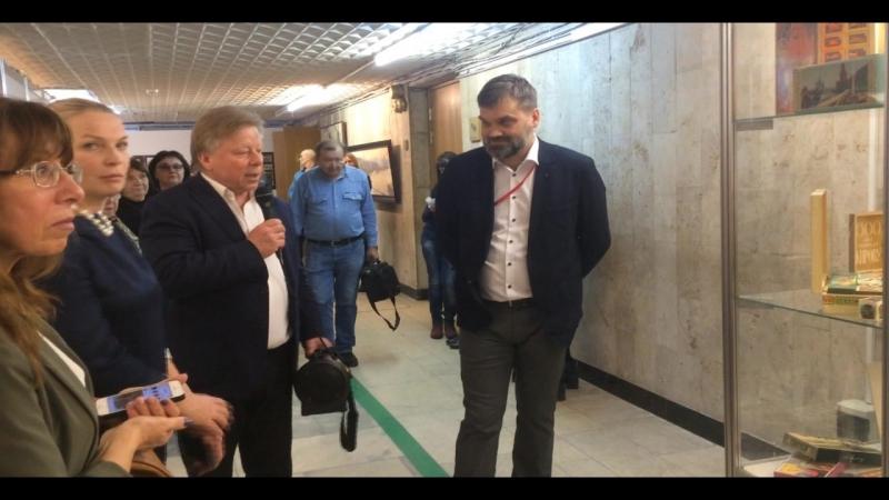 Василий Владимирович Бычков рассказывает о МУЗЕЕ СПИЧКИ