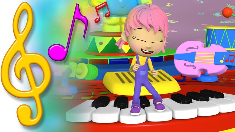 TuTiTu Songs | Let's Play Some Music! | Songs for Children with Lyrics