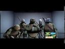 Teenage Mutant Ninja Turtles Elevator Scene