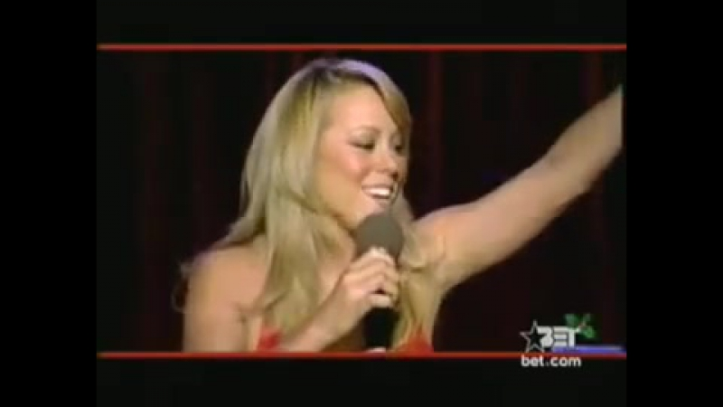 Mariah Carey - Joy To The World Live At Bet 2001