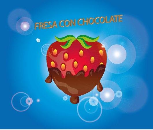 TUTORIALES ILLUSTRATOR CS6 CREAR FRESA CON CHOCOLATE