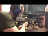 выстрел из cнайперской винтовки Truvelo 50 калибра