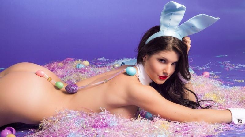 Amanda Cerny The Naughty Bunny Nude Playmate ( Сексуальная, Ню, Модель, Nude 18+ )