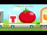 Alphabet Train Food