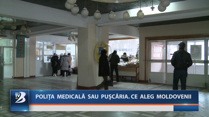 POLIȚA MEDICALĂ SAU PUȘCĂRIA CE ALEG MOLDOVENII